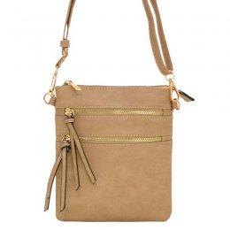 Designer Inspired Messenger Bag Taupe 80808a Tp Youngstar Handbags Handbag Handbags Fashion Handbags Wholesale Handbags Jewelry Young Star