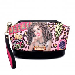 Nicole Lee Cosmetic Pouch Ready for Tonight