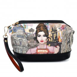 Nicole Lee Cosmetic Pouch Welcome to Spain
