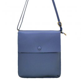 Simply Design Large Messenger Blue