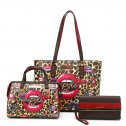 Nicole Lee WILD LIPS 3-in-1 Shopper Set