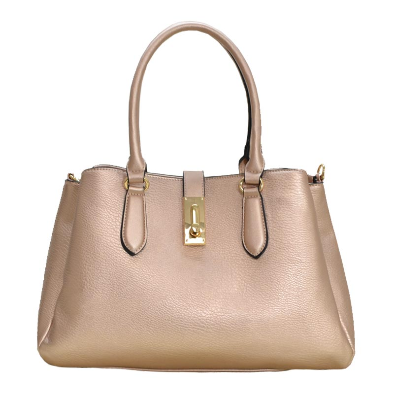 Luxury Hand Bag Rose Gold