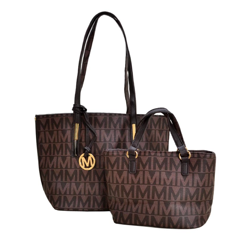 Milan 2 in 1 M Tote Chocolate