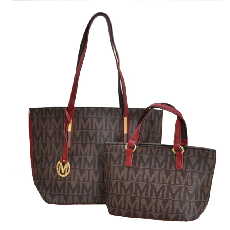 Milan 2 in 1 M Tote Red