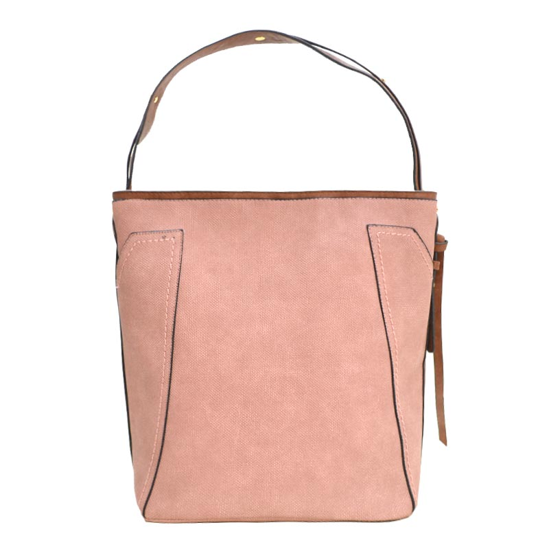 Fashion Tote with Wallet Blush