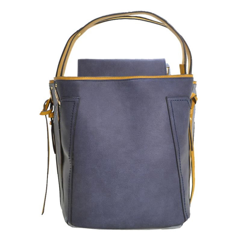 Fashion Tote with Wallet Denim