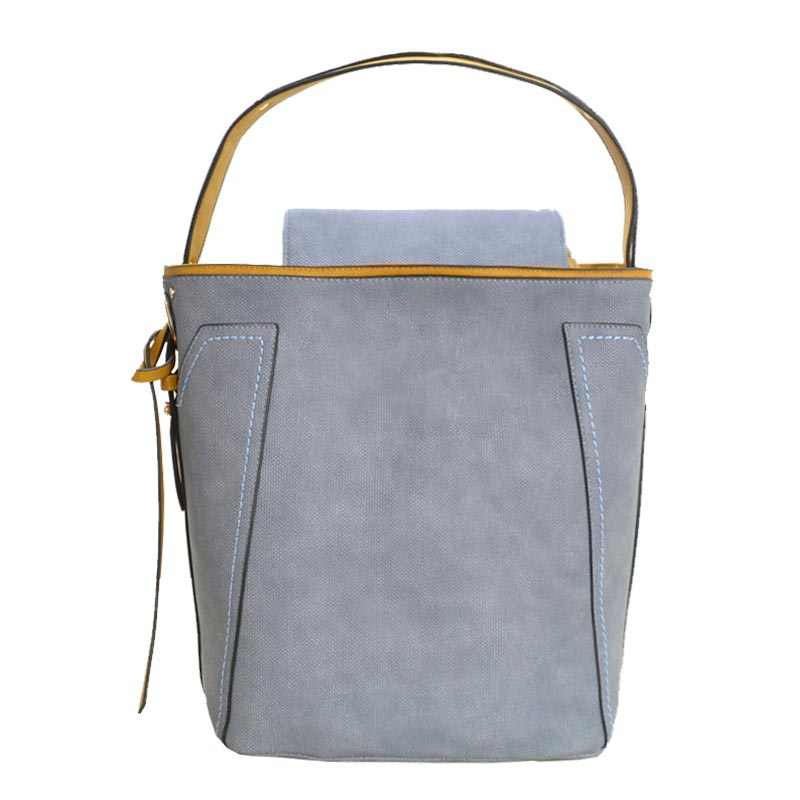 Fashion Tote with Wallet Light Denim