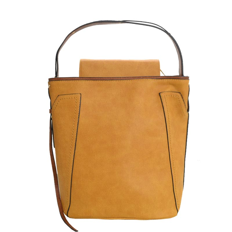 Fashion Tote with Wallet Yellow