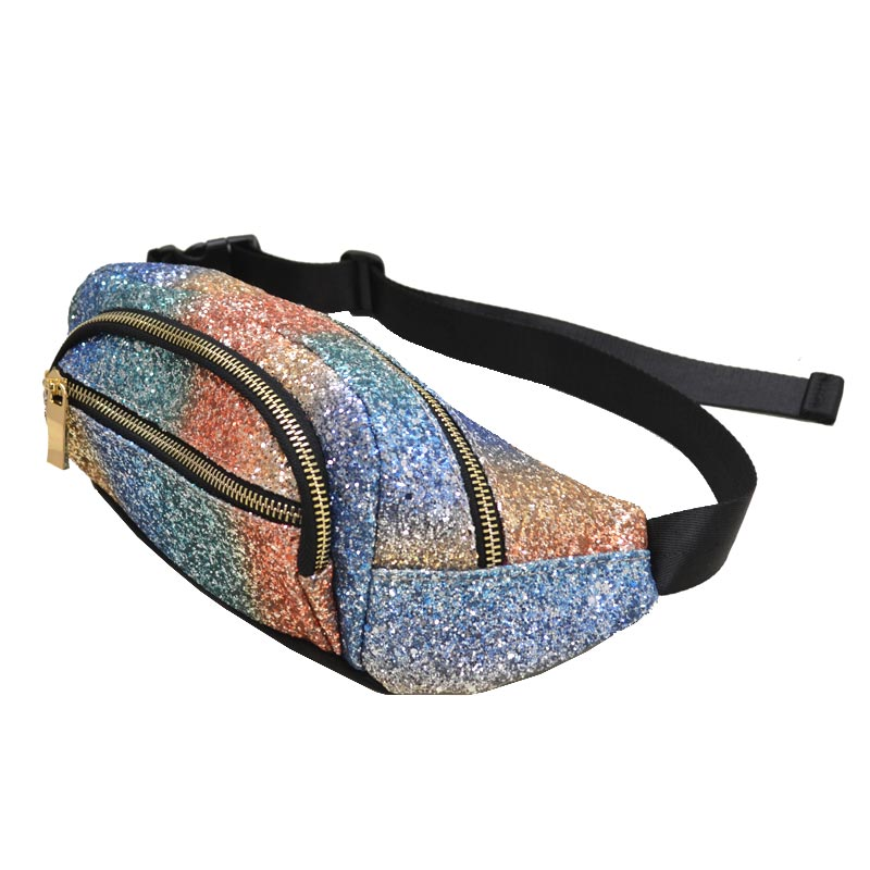 Bling Bling Fashion Waist Bag Multi colors 1