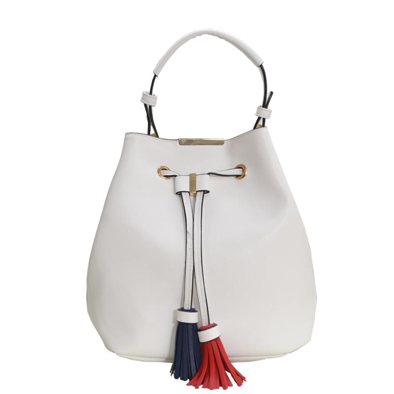 Fashion Cute Handbag Blush White