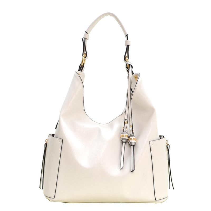 Charm Ornament Accent Hobo White