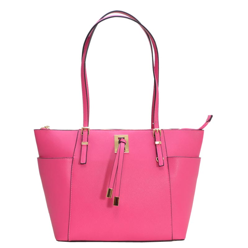 Fashion Chic modern Tote Bag Fuchsia