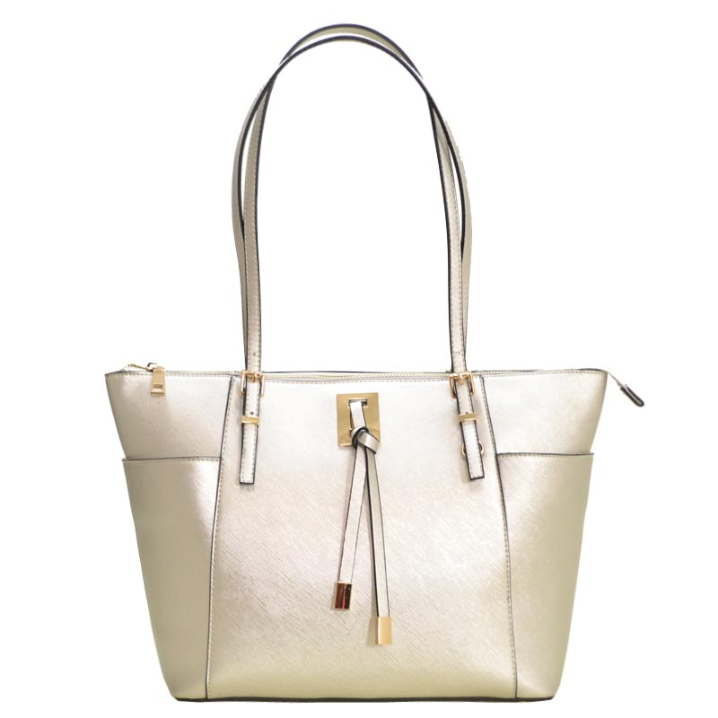 Fashion Chic modern Tote Bag Silver