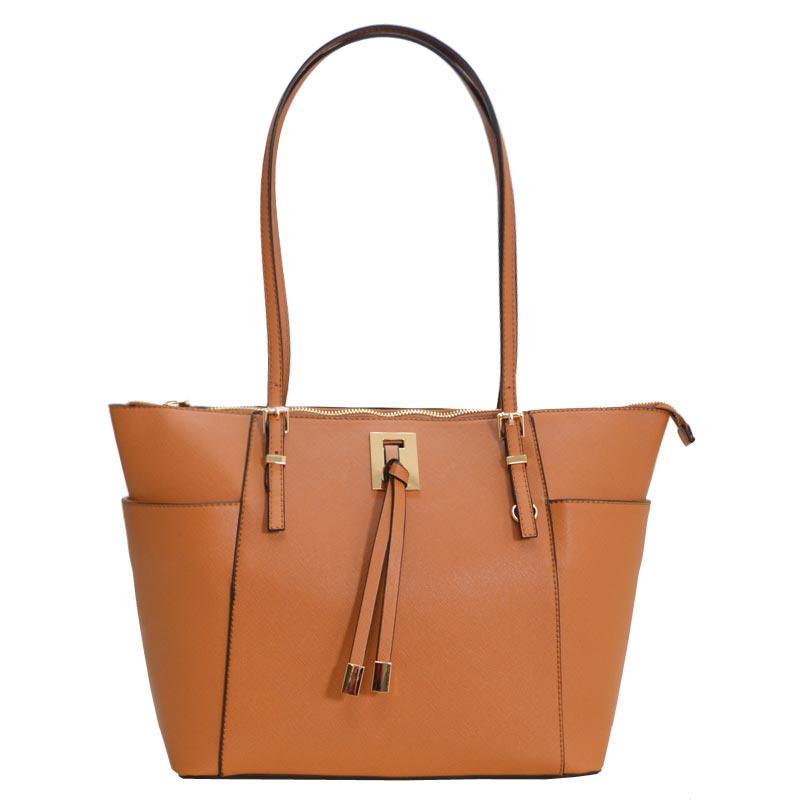 bf31412326d1 Fashion Chic modern Tote Bag Tan