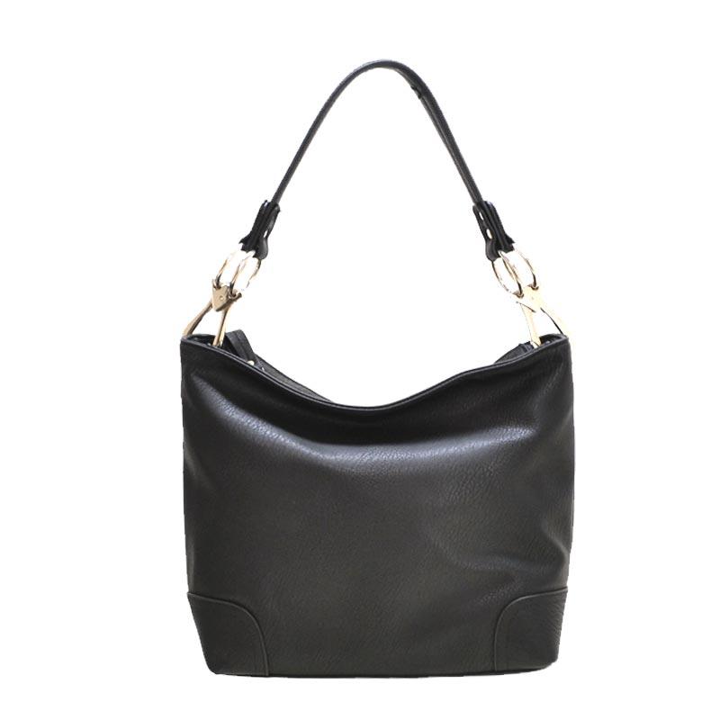 54c1a0541ad9 Fashion Classic Bucket Bag Balck  HB-3179(BK)    Youngstar Handbags ...