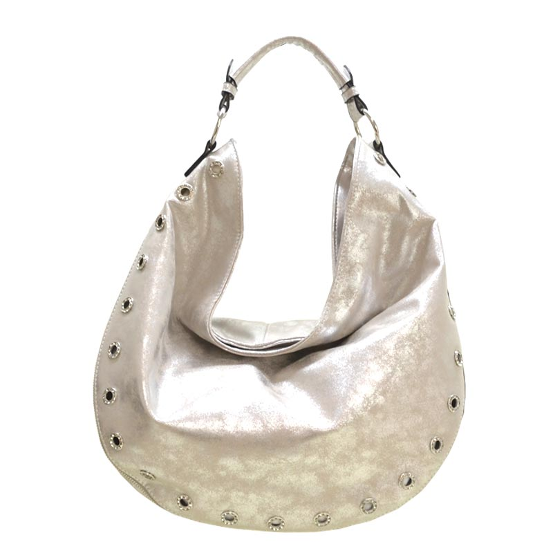 Fashion Tote Bag Silver