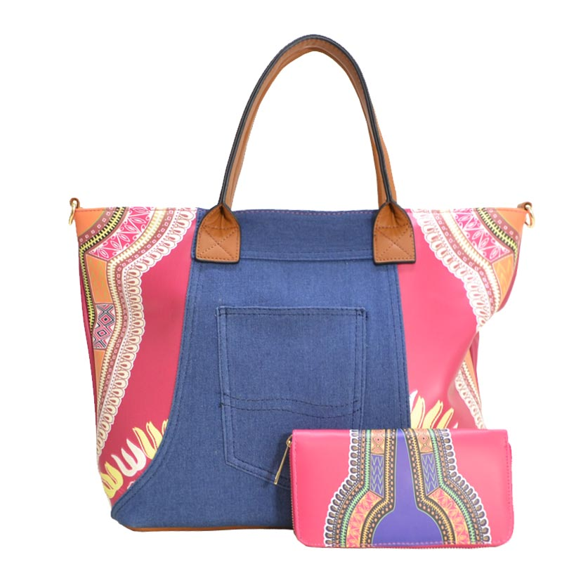 Fashion Tote Fuchsia