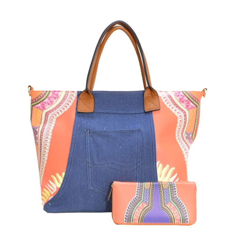 Fashion Tote Orange