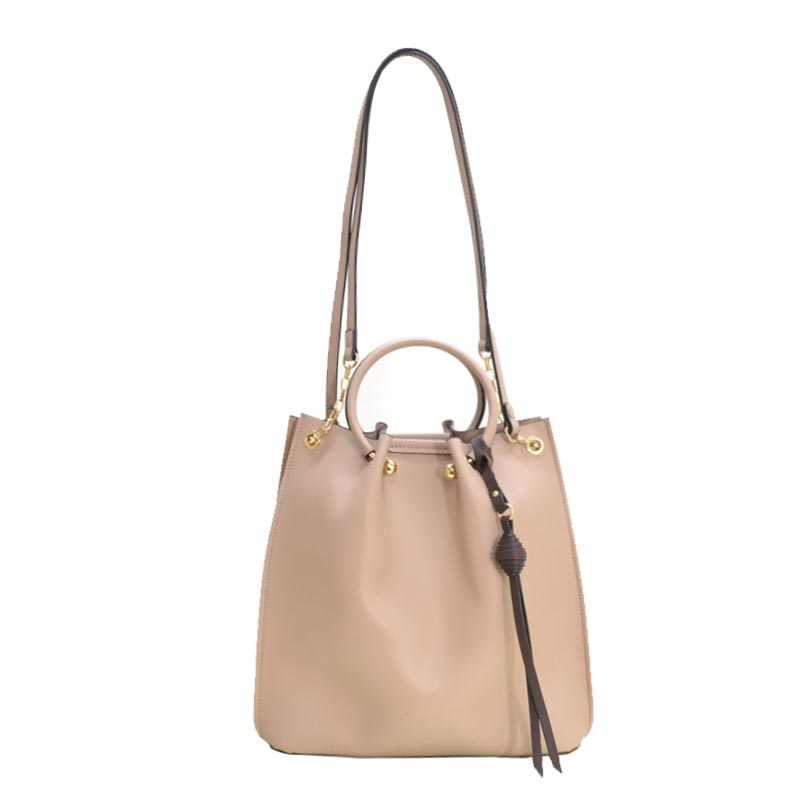 Fashion Convertible 2 in 1 Satchel Stone