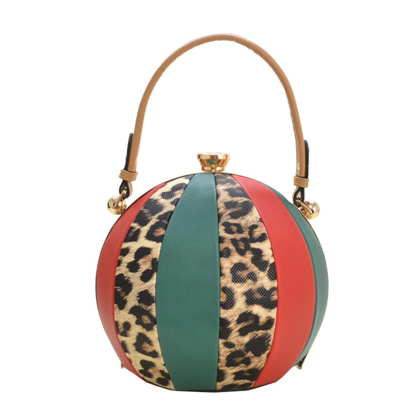 Unique Ball Shape Fashion Bag TAN