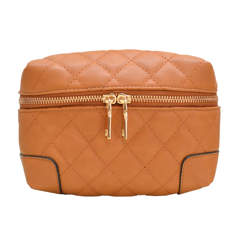 Fanny Quilted Waist or Shoulder Pack Brown