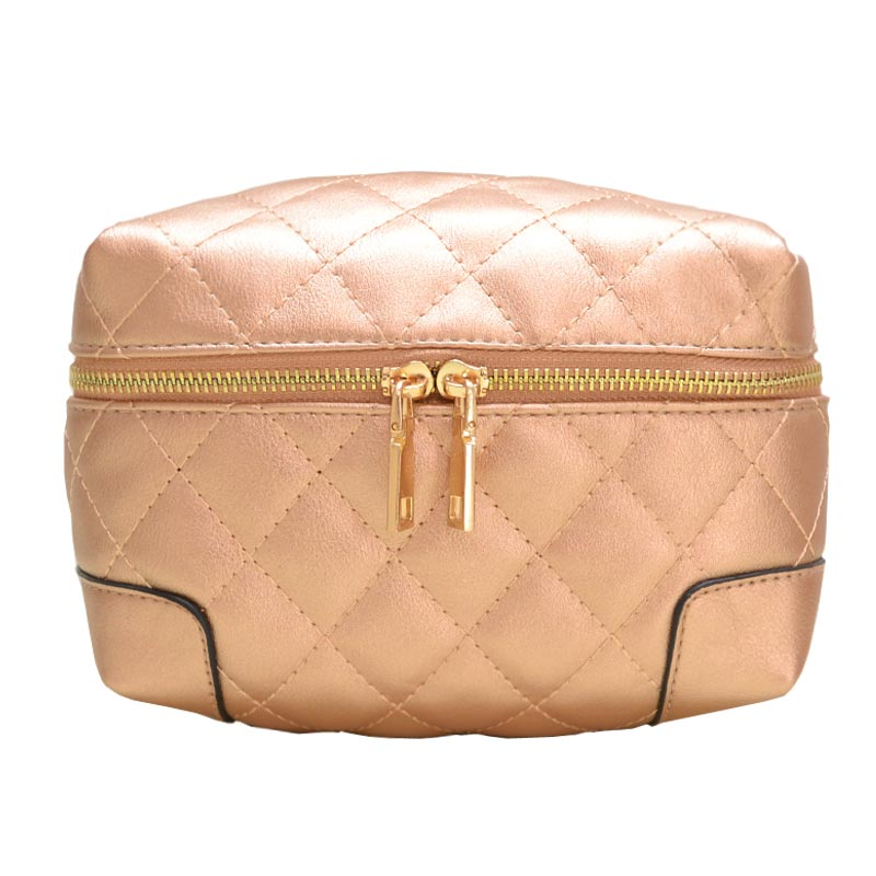 Fanny Quilted Waist or Shoulder Pack Champagne