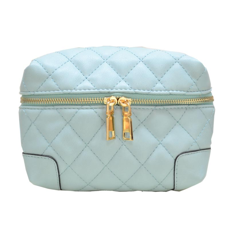 Fanny Quilted Waist or Shoulder Pack Green