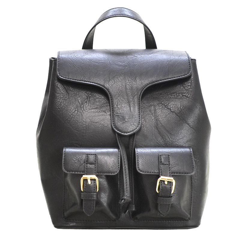 Urban Fashion Backpack Black
