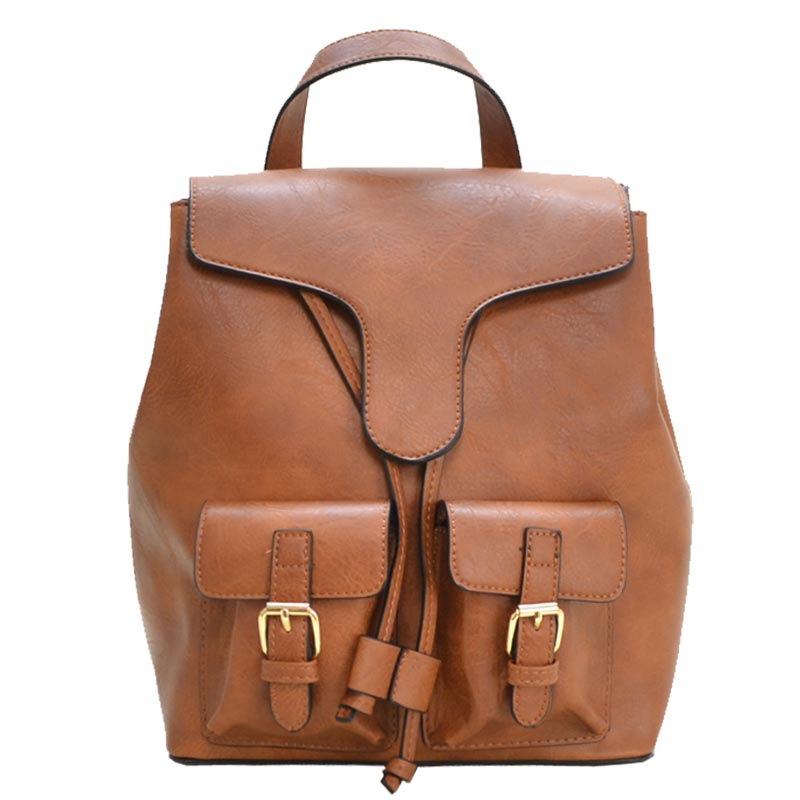 Urban Fashion Backpack Brown