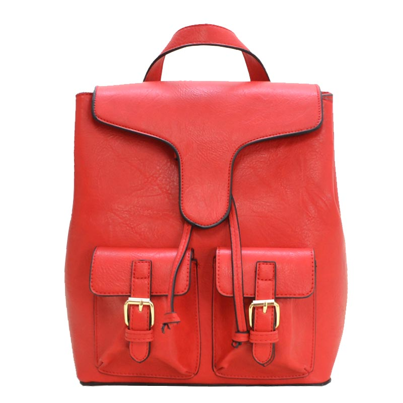 Urban Fashion Backpack Red