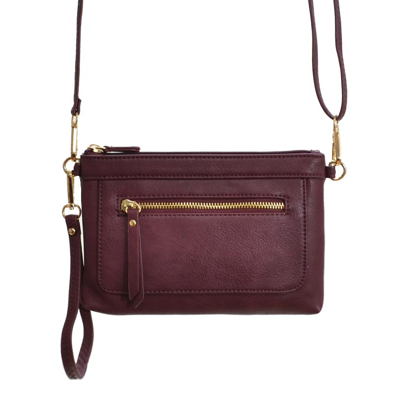 Cross Body Bag Burgundy