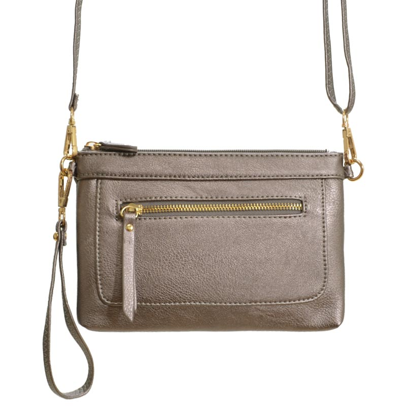 Cross Body Bag Pewter