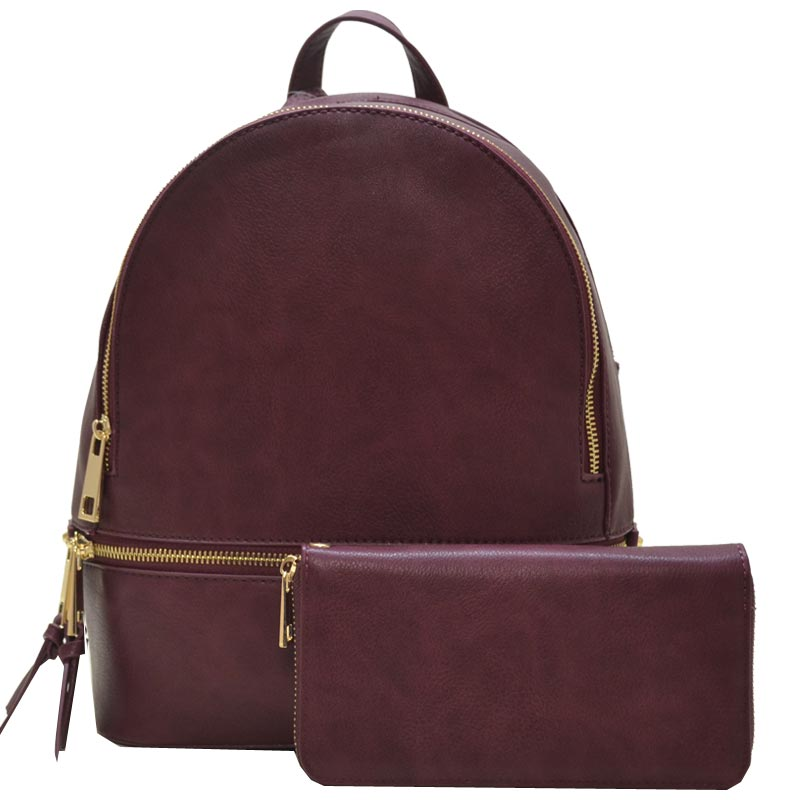 3060f48cc606 Fashion Backpack Burgundy