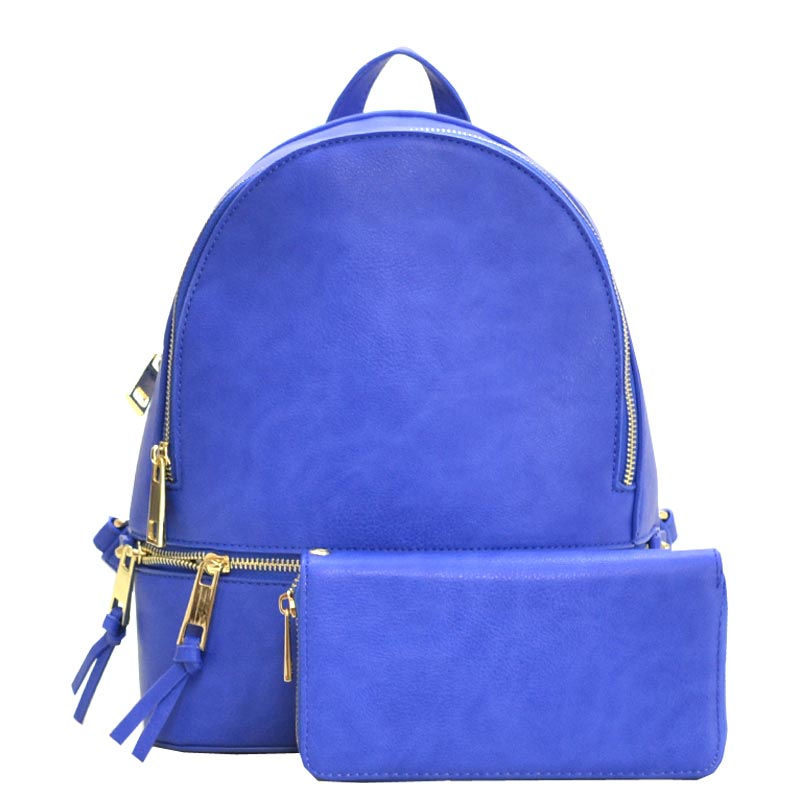 2 in 1 Fashion Backpack Royal Blue