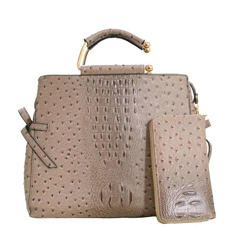 Fashion Tote Bag Taupe