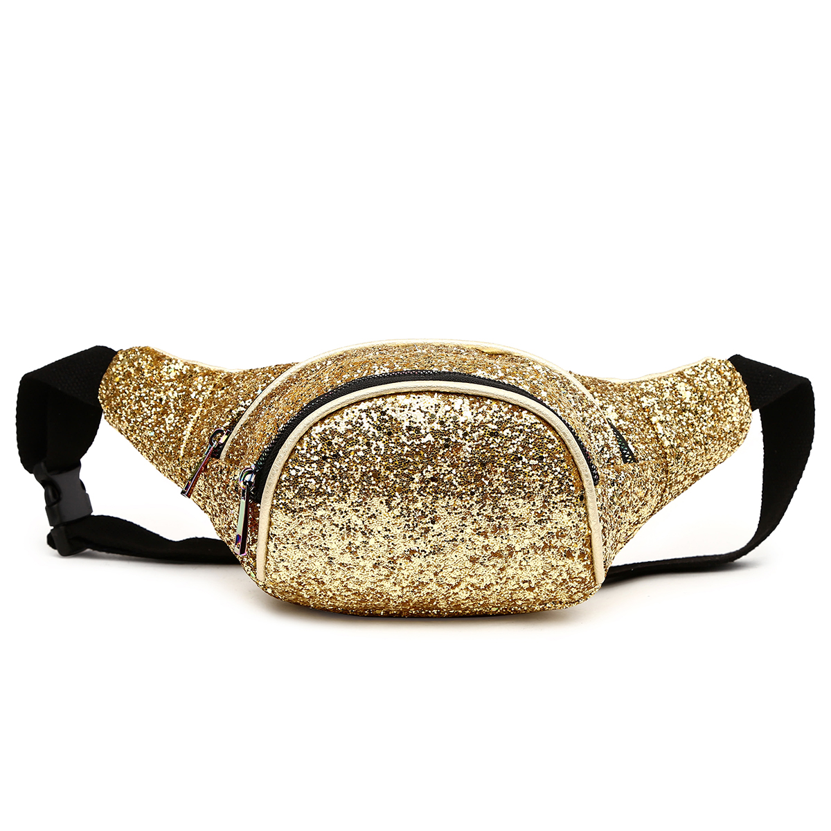 Glittered Fanny Pack Gold