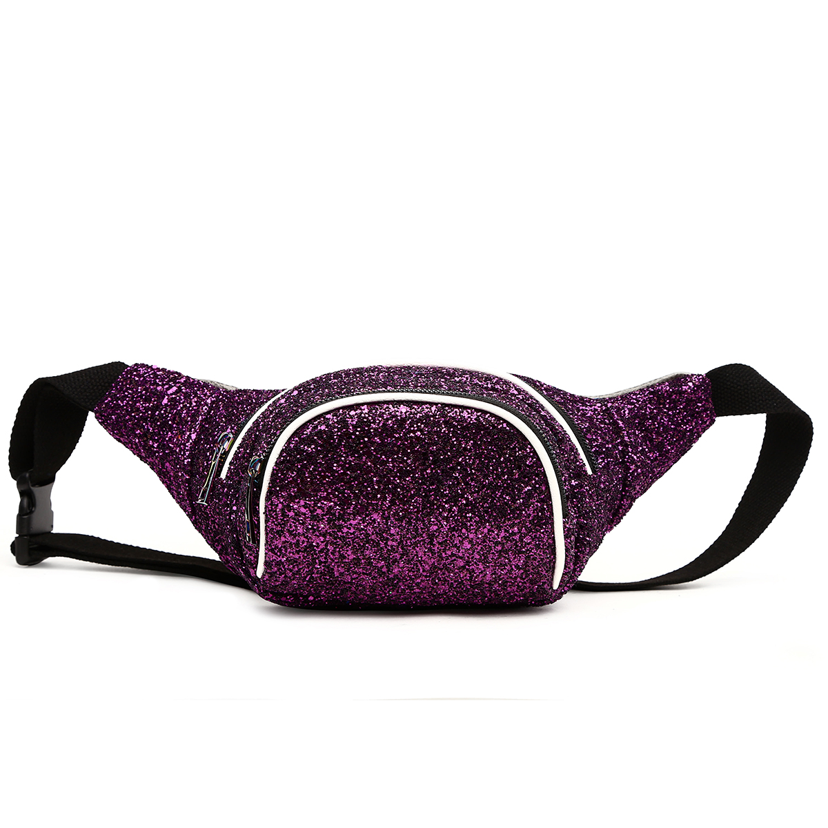 Glittered Fanny Pack Purple