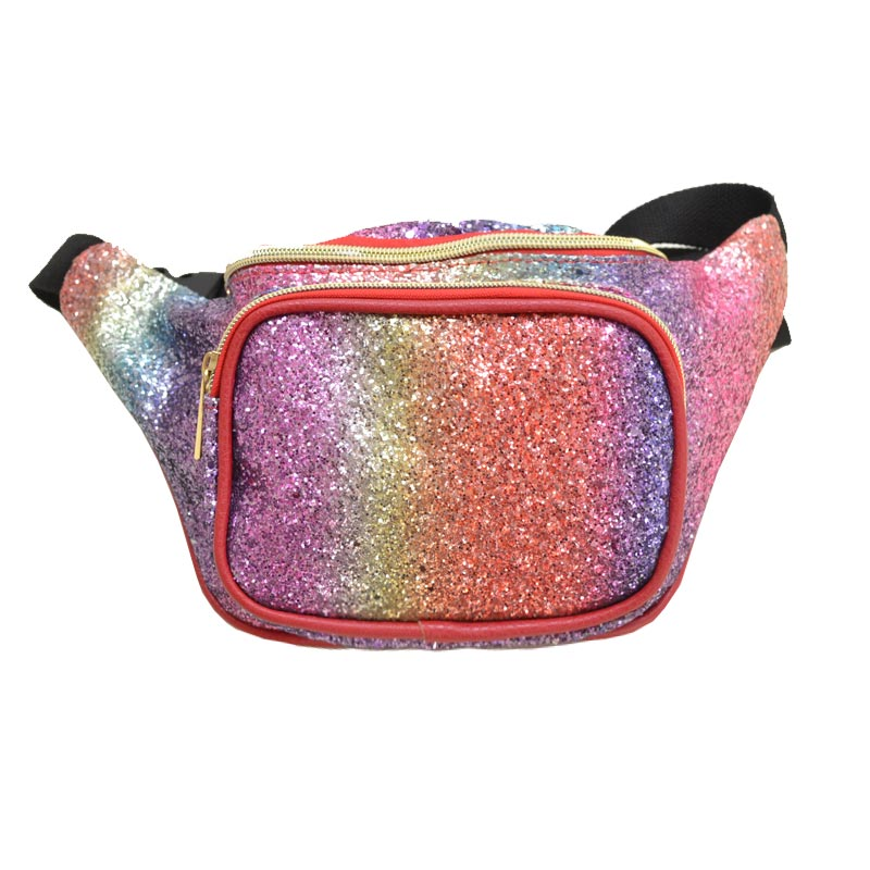 Glittered Fanny Waist Pack Multi2