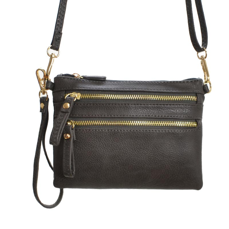 Crossbody Handbag Charcoal Grey