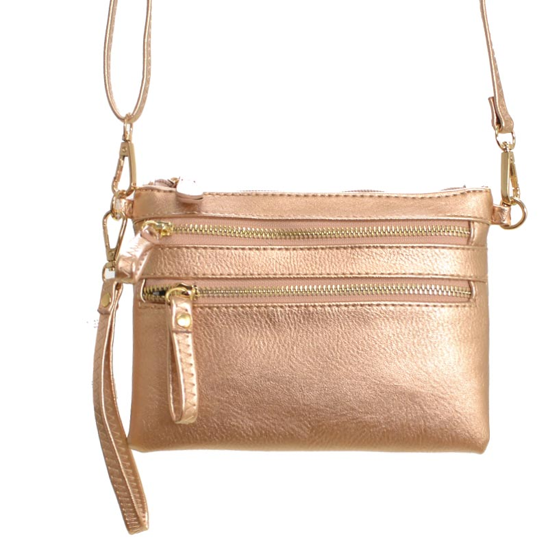 Crossbody Handbag Rose Gold