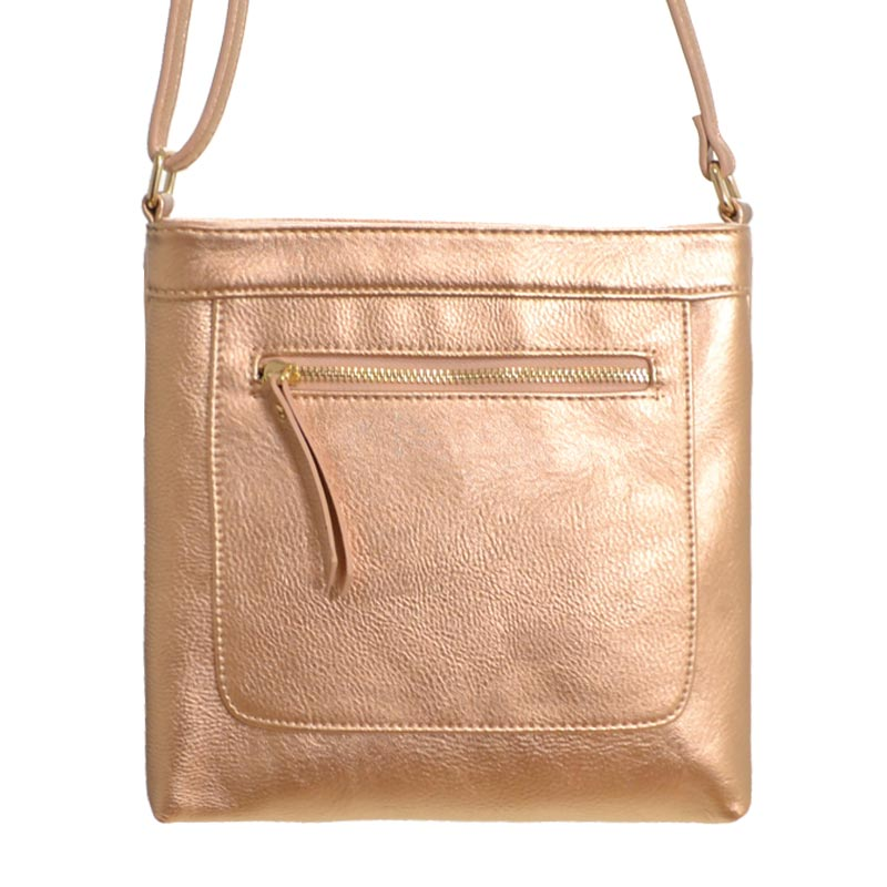 Fashion Shoulder Bag Rose Gold