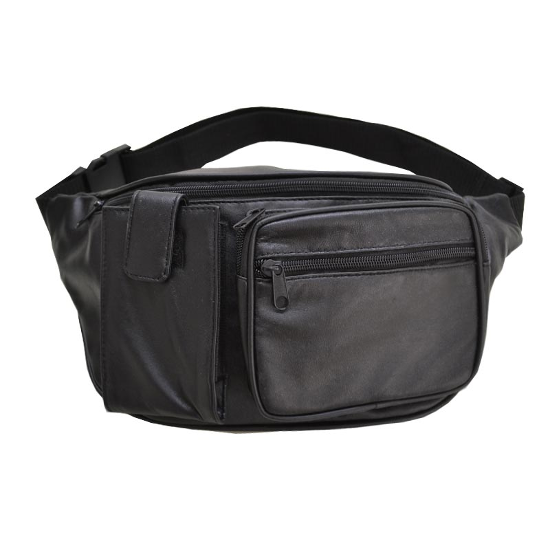 Real Leather Fanny Pack