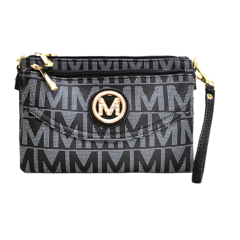 Five Compartments Caprice M Signature Cross-body Black