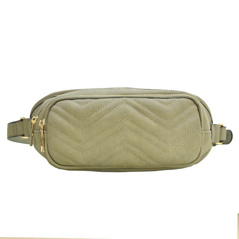 Classical Quilted Fashion Pack Olive
