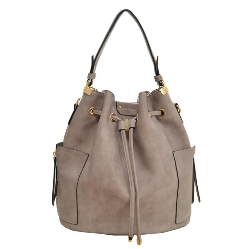 Fashion Hobo Bag Light Grey