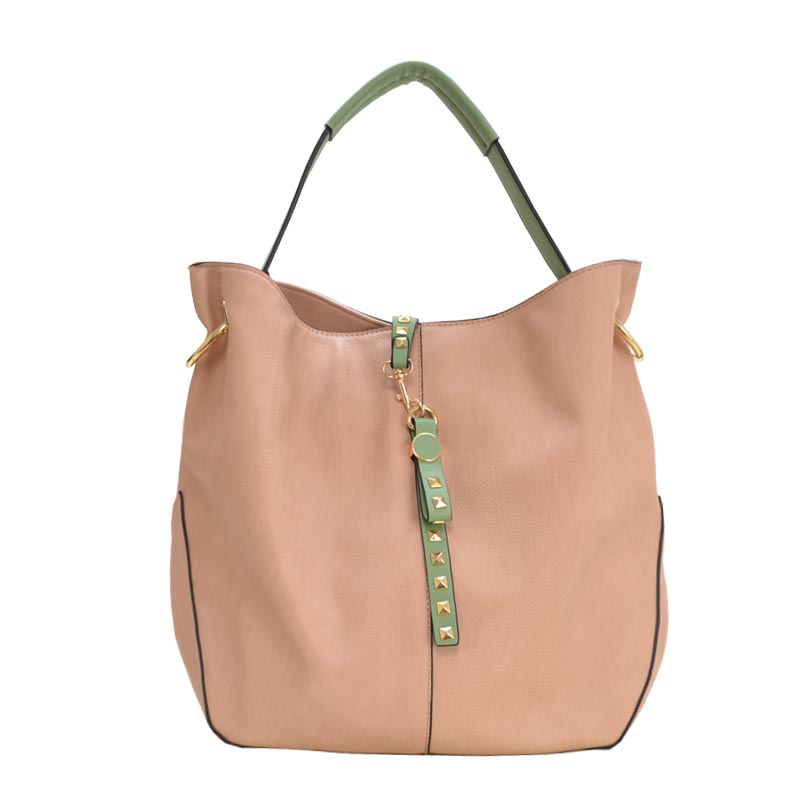 Elegant Fashion Hobobag Blush