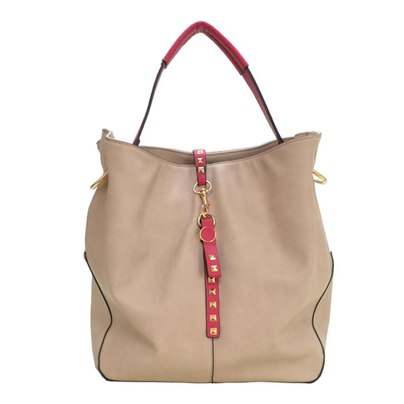 Elegant Fashion Hobobag Taupe