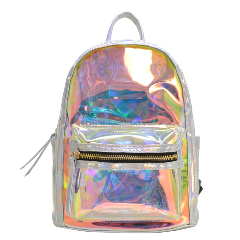 Hologram it mini backpack Silver