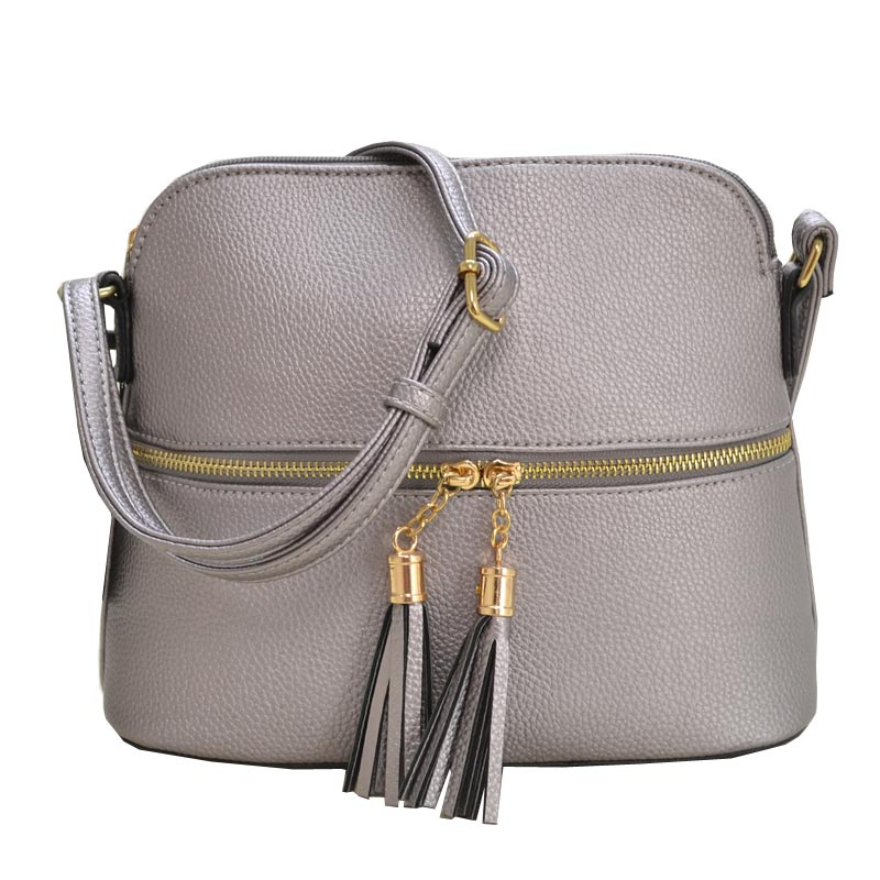 Fashion Crossbody Bag Pewter