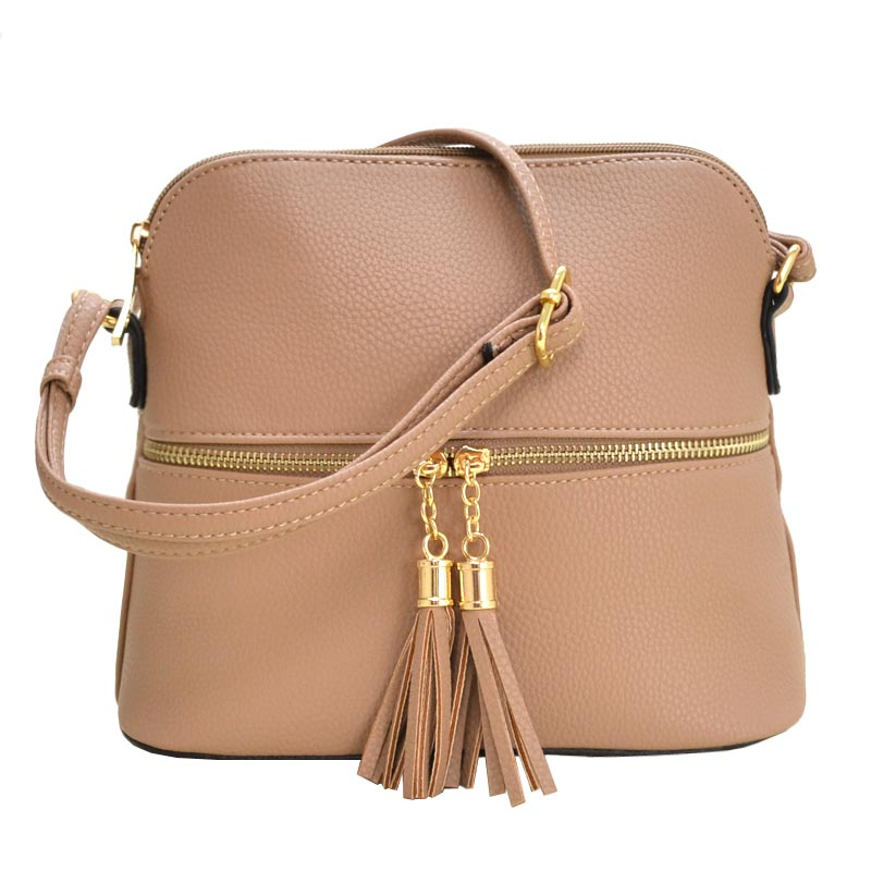 Fashion Crossbody Bag Taupe